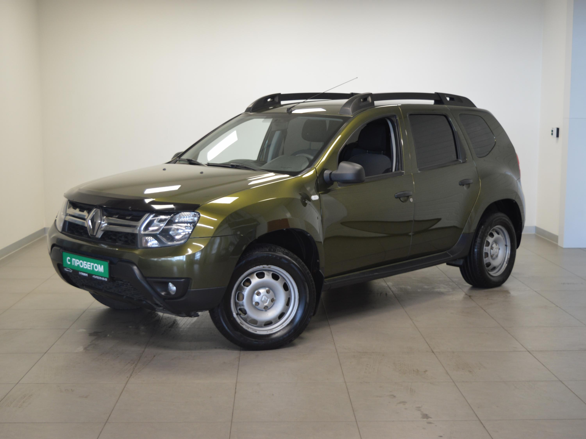 Renault Duster I Рестайлинг