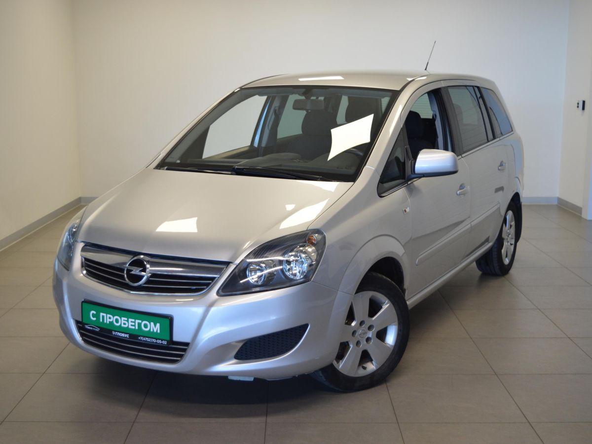 Opel Zafira B Рестайлинг
